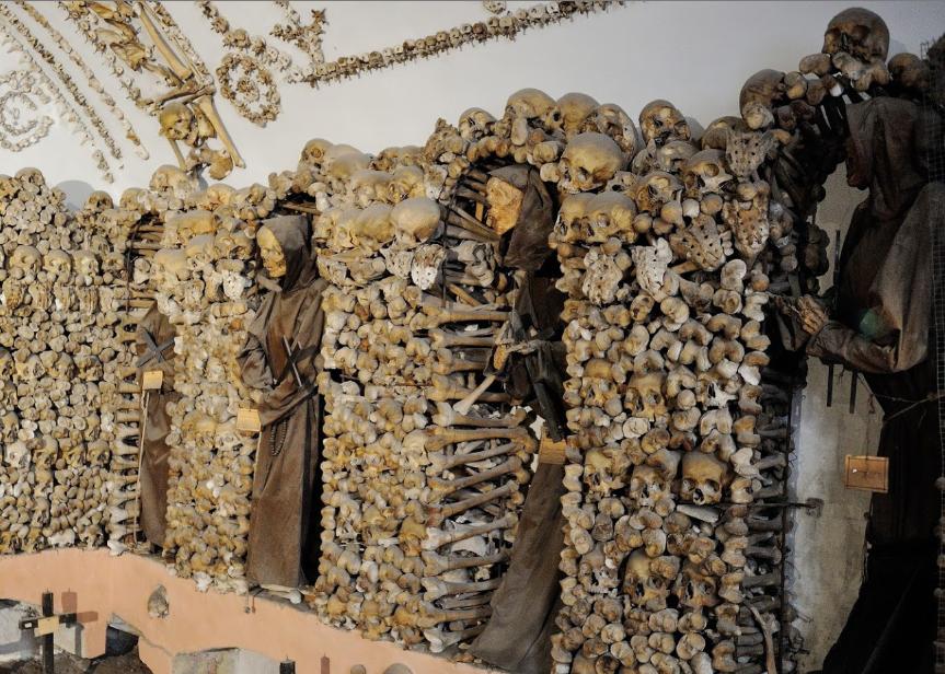 capuchin ossuary crypt rome