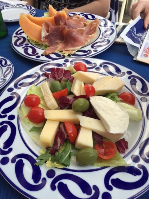 cheesy salad